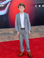 "LOS ANGELES, USA. August 27, 2019: Jackson Robert Scott at the premiere of ""IT Chapter Two"" at the Regency Village Theatre.<br /> Picture: Paul Smith/Featureflash"