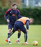 Matt Crooks and Martyn Waghorn