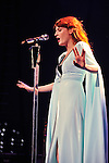 Florence Welch of Florence and the Machine performs at Jacobs Pavilion in Cleveland, Ohio.