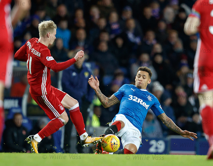 James Tavernier and Gary Mackay-Steven