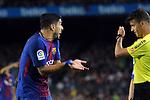 League Santander 2017/2018. Game: 03.<br /> FC Barcelona vs RCD Espanyol: 5-0.<br /> Luis Suarez.