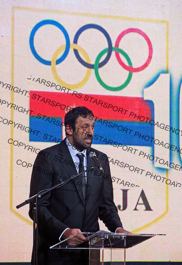 Olimpiski Savez Srbije Vlade Divac dodela priznanja 18.12.2009. photo: Pedja Milosavljevic