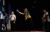 11th January 2018, Brisbane Royal International Convention Centre, Brisbane, Australia; Pro Darts Showdown Series; Simon Whitlock (AUS) in Quarter Final action against Ray O'Donnell (AUS)