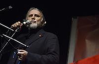Roma, 1 Dicembre 2012.Testaccio teatro Vittora.Assemblea Cambiare si può, per l'alternativa verso le elezioni 2013.Moni Ovadia