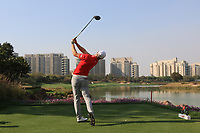 Jens Dantorp (SWE) in action on the 8th during Round 1 of the Hero Indian Open at the DLF Golf and Country Club on Thursday 8th March 2018.<br /> Picture:  Thos Caffrey / www.golffile.ie<br /> <br /> All photo usage must carry mandatory copyright credit (&copy; Golffile | Thos Caffrey)