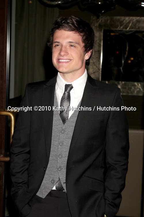LOS ANGELES - AUG 15:  Josh Hutcherson arrives at the 2010 Breakthrough of the Year Awards  at Pacific Design Center on August 15, 2010 in West Hollywood, CA