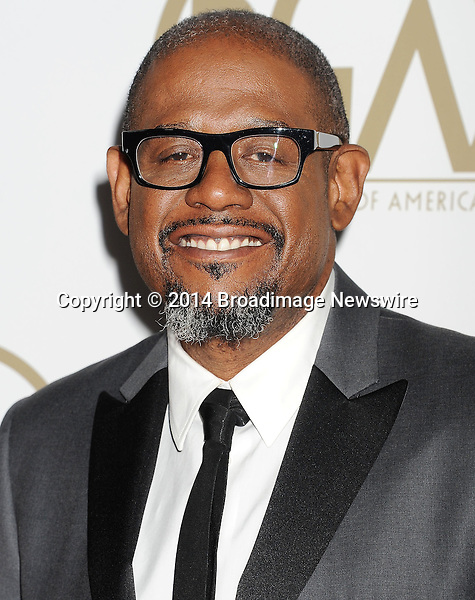 Pictured: Forest Whitaker                                                 <br /> Mandatory Credit &copy; Joseph Gotfriedy/Broadimage<br /> 25th Annual Producers Guild Awards<br /> <br /> 1/19/14, Beverly Hills, California, United States of America<br /> <br /> Broadimage Newswire<br /> Los Angeles 1+  (310) 301-1027<br /> New York      1+  (646) 827-9134<br /> sales@broadimage.com<br /> http://www.broadimage.com
