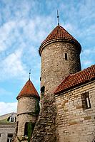 Estonia, Tallinn, Old town, UNESCO World Heritage Site.
