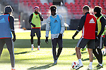 09 December 2016: Toronto's Tosaint Ricketts. Toronto FC held a training session one day before playing in MLS Cup 2016 at BMO Field in Toronto, Ontario in Canada.