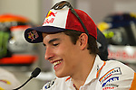 austin. tejas. USA. motociclismo<br /> GP in the circuit of the americas during the championship 2014<br /> 12-04-14<br /> En la imagen :<br /> Press conference<br /> marc marquez<br /> photocall3000 / rme