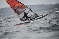 Team USA One training before the start of The Sailing World Cup in Hyeres, France 2016
