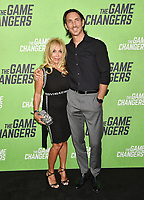 "HOLLYWOOD, CA - SEPTEMBER 04: Cindy Landon attends the LA Premiere Of ""The Game Changers"" at ArcLight Hollywood on September 04, 2019 in Hollywood, California.<br /> CAP/ROT/TM<br /> ©TM/ROT/Capital Pictures"