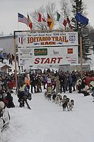 Jason Mackey Willow restart Iditarod 2008.
