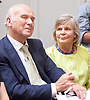 Liberal Democrat Leadership press conference. <br /> <br /> Vince Cable - new leader <br /> Rachel Smith <br /> 20th July 2017 <br /> at The St Ermin&rsquo;s Hotel, London. Great Britain <br /> &nbsp;<br /> <br /> <br /> Photograph by Elliott Franks <br /> Image licensed to Elliott Franks Photography Services