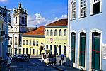 Largo do Pelourinho em Salvador, Bahia. 2001. Foto de Juca Martins.
