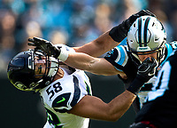 Photography of the Carolina Panthers  v. The Seattle Seahawks at Bank of America Stadium in Charlotte, North Carolina. <br /> <br /> Charlotte Photographer - PatrickSchneiderPhoto.com