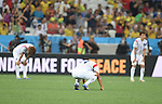 Lee Keun-Ho (KOR),<br /> JUNE 26, 2014 - Football / Soccer :<br /> Lee Keun-Ho of South Korea looks dejected after the FIFA World Cup Brazil 2014 Group H match between South Korea 0-1 Belgium at Arena de Sao Paulo in Sao Paulo, Brazil. (Photo by SONG Seak-In/AFLO)