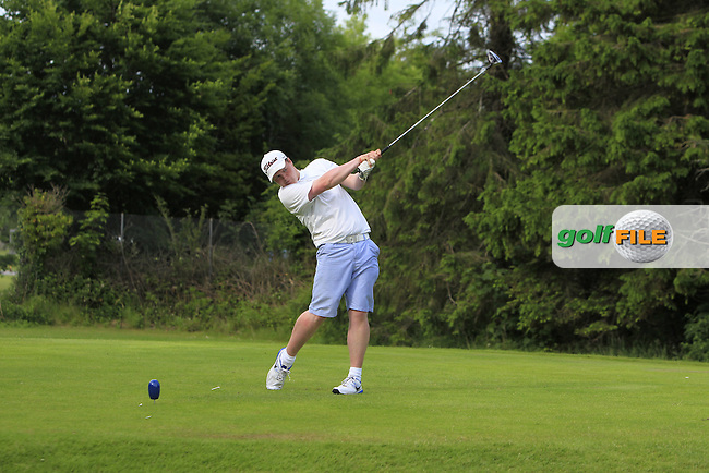 Andrew Hickey (Ballyhaunis) on the 16th tee during Round 4 of the 2016 Connacht Strokeplay Championship at Athlone Golf Club on Sunday 12th June 2016.<br /> Picture:  Golffile | Thos Caffrey