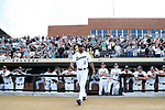 WINSTON-SALEM, NC - JUNE 02: Wake Forest's Donnie Sellers. The Wake Forest Demon Deacons hosted the University of Maryland Baltimore County Retrievers on June 2, 2017, at David F. Couch Ballpark in Winston-Salem, NC in NCAA Division I College Baseball Tournament Winston-Salem Regional Game 2. Wake Forest won the game 11-3.