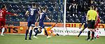 12.02.2020 Kilmarnock v Rangers: Allan McGregor beaten for Kilmarnock's goal