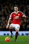 Morgan Schneiderlin of Manchester United in action - English Premier League - Manchester Utd vs Chelsea - Old Trafford Stadium - Manchester - England - 28th December 2015 - Picture Simon Bellis/Sportimage