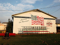 A barn during the SEMO District Fair on Wednesday, Sept. 15, 2010 in Cape Girardeau, Missouri.