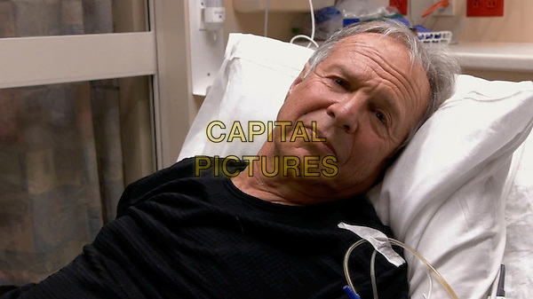 One Cut, One Life (2014) <br /> Ed Pincus receives news in a Burlington, Vermont hospital<br /> *Filmstill - Editorial Use Only*<br /> CAP/KFS<br /> Image supplied by Capital Pictures