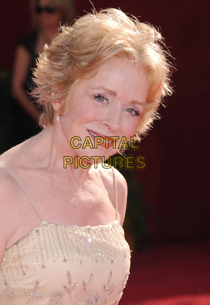 HOLLAND TAYLOR .60th Annual Primetime Emmy Awards held at the Nokia Theatre, Los Angeles, California, USA,  21 September 2008..emmys red carpet arrivals portrait headshot yellow beaded dress  .CAP/ADM/BP.©Byron Purvis/Admedia/Capital PIctures