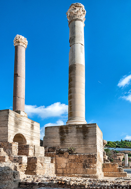 The city of Carthage was the centre of the Carthaginian Empire in antiquity. The city developed from a Phoenician colony of the 1st millennium BC into the capital of an ancient empire.
