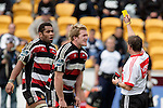 James Maher gets given 10 minutes in the sinbin by referee Chris Pollock. Air NZ Cup week 4 game between the Counties Manukau Steelers and Northland played at Mt Smart Stadium on the 19th of August 2006. Northland won 21 - 17.