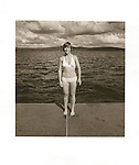 Sherry Herndon, Lake Sunapee, NH 1976. 76-203 file#