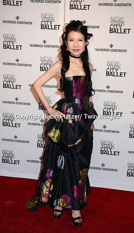 Chiu-Ti Jansen attends the New York City Ballet Spring 2014 Gala on May 8, 2014 at David Koch Theatre in Lincoln Center in New York City, NY, USA.