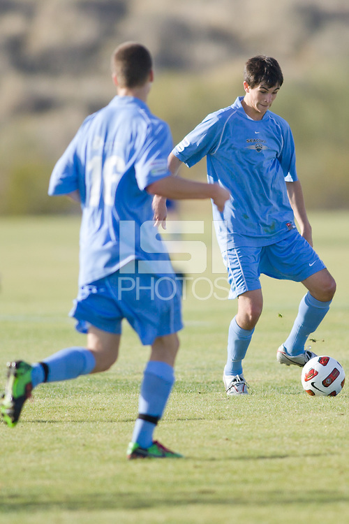 2010 US Soccer Development Academy Winter Showcase U17/18 Seacoast United vs Internationals at Reach 11 Soccer Complex in Phoenix, Arizona in December of  2010.