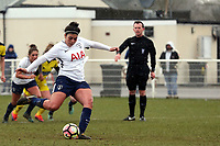 Renee Hector of Tottenham Ladies sees her penalty saved during Tottenham Hotspur Ladies vs Oxford United Women, FA Women's Super League FA WSL2 Football at Theobalds Lane on 11th February 2018