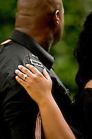 Engagement Photos of Jason Sawyer and Jhernee Hunt in Atlanta, GA