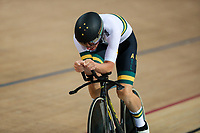 Picture by Alex Whitehead/SWpix.com - 24/03/2018 - Cycling - 2018 UCI Para-Cycling Track World Championships - Rio de Janeiro Municipal Velodrome, Barra da Tijuca, Brazil - Kyle Bridgewood of Australia competes in the Men's C4 Individual Pursuit qualifying.