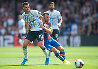 Everton Morgan Schneiderlin and Crystal Palace James McArthur during the Premier League match between Crystal Palace and Everton at Selhurst Park, London, England on 10 August 2019. Photo by Andrew Aleksiejczuk / PRiME Media Images.