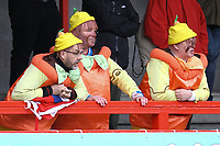 Grimsby fans look on during Crawley Town vs Grimsby Town, Sky Bet EFL League 2 Football at Broadfield Stadium on 9th March 2019