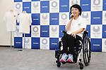 Aki Taguchi, JUNE 22, 2016 : Aki Taguchi attends press conference, regarding the Tokyo 2020 Olympic and Paralympic games official goods in Tokyo, Japan.(Photo by Yusuke Nakanishi/AFLO SPORT)