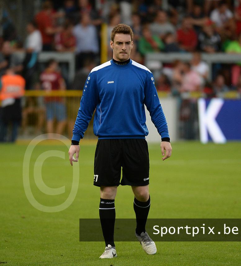 KV Kortrijk  : Laurent Henkinet <br /> foto VDB / BART VANDENBROUCKE