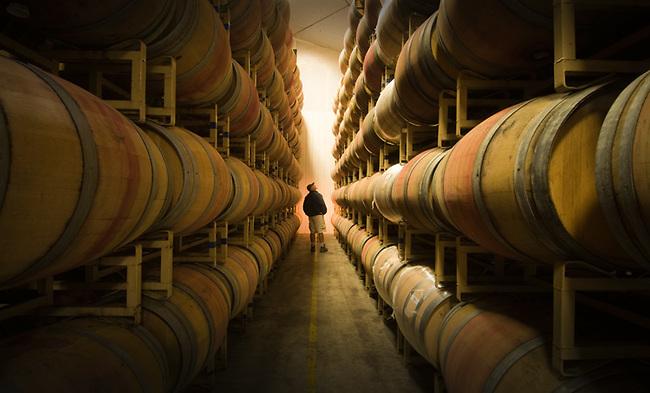 Brett Adams, asst winemaker