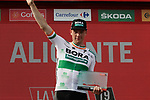 Sam Bennett (IRL) Bora-Hansgrohe wins Stage 3 of La Vuelta 2019 running 188km from Ibi. Ciudad del Juguete to Alicante, Spain. 26th August 2019.<br /> Picture: Colin Flockton | Cyclefile<br /> <br /> All photos usage must carry mandatory copyright credit (© Cyclefile | Colin Flockton)