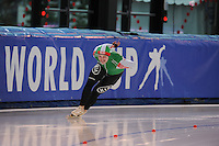 SPEED SKATING: STAVANGER: Sørmarka Arena, 31-01-2016, ISU World Cup, 1000m Men Division B, Yevgeny Kazimirenko (BLR), ©photo Martin de Jong