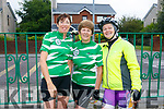 At the Na Gaeil Cycle on Saturday were Helen Costello, Geraldine Stack and Patricia O Neill