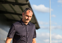 Swansea City Manager Paul Clement ahead of the 2017/18 Pre Season Friendly match between Barnet and Swansea City at The Hive, London, England on 12 July 2017. Photo by Andy Rowland.