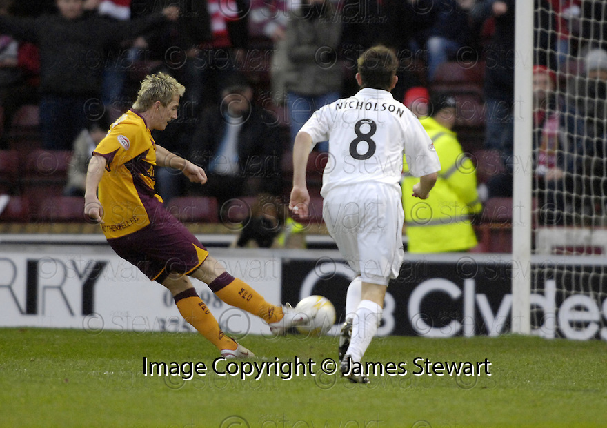 15/12/2007      Copyright Pic: James Stewart.File Name : sct_jspa04_motherwell_v_aberdeen.ROSS MCCORMACK SCORES MOTHERWELL'S FIRST.James Stewart Photo Agency 19 Carronlea Drive, Falkirk. FK2 8DN      Vat Reg No. 607 6932 25.Office     : +44 (0)1324 570906     .Mobile   : +44 (0)7721 416997.Fax         : +44 (0)1324 570906.E-mail  :  jim@jspa.co.uk.If you require further information then contact Jim Stewart on any of the numbers above.........