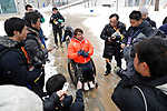 Taiki Morii (JPN), MARCH 8, 2018 - : IPC released the Paralympic Village to the media at Paralympic Village during the PyeongChang 2018 Paralympics Winter Games in Pyeongchang, South Korea. (Photo by Yusuke Nakanishi/AFLO SPORT)