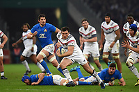 Remy Grosso of France during the NatWest Six Nations match between France and Italy at Stade Velodrome on February 23, 2018 in Marseille, France. (Photo by Alexandre Dimou/Icon Sport)