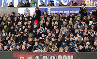 Pictured: Swansea fans Saturday 10 January 2015<br />