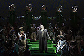 """London, UK. 30 January 2015. Gwyn Hughes Jones as Walter von Stolzing. Richard Wagner's opera """"The Mastersingers of Nuremberg"""" (Die Meistersinger von Nuernberg) is performed live on stage during the dress rehearsal with English National Opera Music Director Edward Gardner leading the ENO Orchestra and Chorus. Directed by Richard Jones with with leads played by Gwyn Hughes Jones as Walter von Stolzing, Rachel Nicholls as Eva Pogner, Madeleine Shaw as Magdalene, Nicky Spence as David (Hans Sachs' apprentice), Iain Paterson as Hans Sachs, Andrew Shore as Sixtus Beckmesser and James Creswell as Veit Pogner. The opera will run for 8 performances at the London Coliseum from 7 February 2015. Photo: Bettina Strenske"""